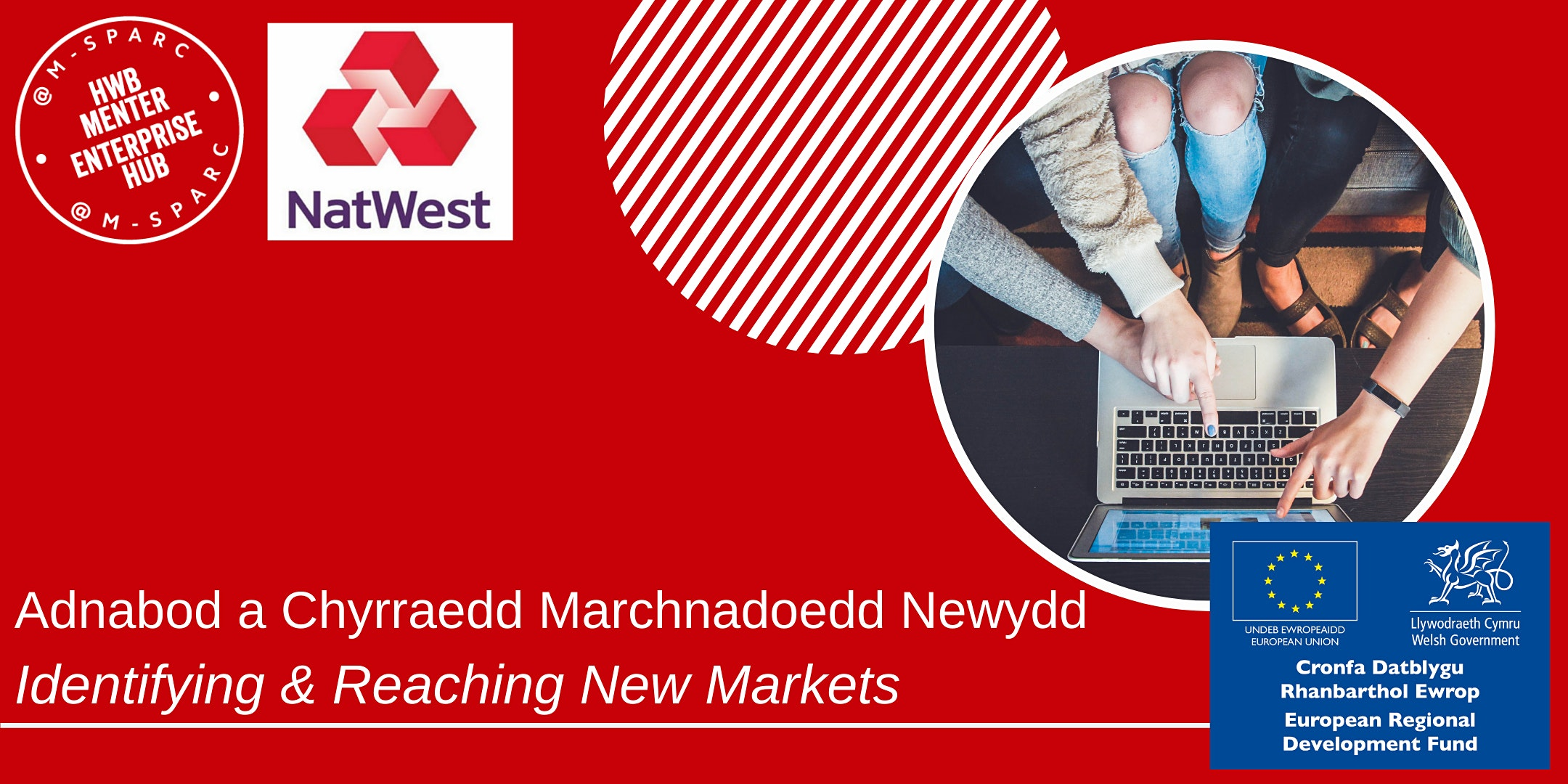 ONLINE - Adnabod Marchnadoedd Newydd /Identifying & Reaching New Markets