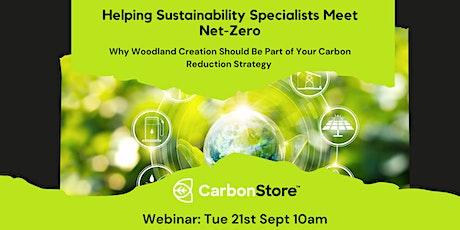 Helping Sustainability Specialists Meet Net-Zero tickets