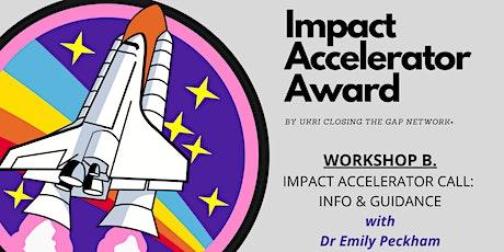 Closing The Gap Impact Accelerator Award: Info & Guidance Workshop tickets