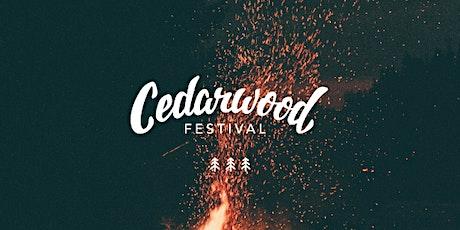 Cedarwood Festival 2022 tickets