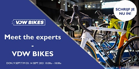 Meet the Experts by VDW Bikes - invitatie billets