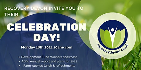 Recovery Devon's Celebration Day! tickets