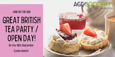 Great British Tea Party (Locks Heath) tickets