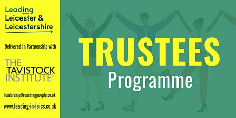 The Role of the Trustee: Leading the Org, Vision & Purpose (Workshop 2/6) tickets