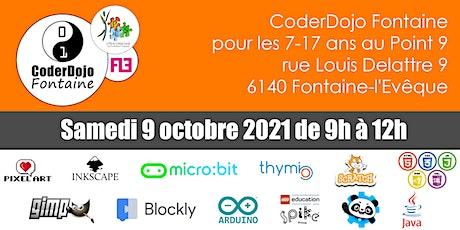 CoderDojo Fontaine - 09/10/2021 tickets