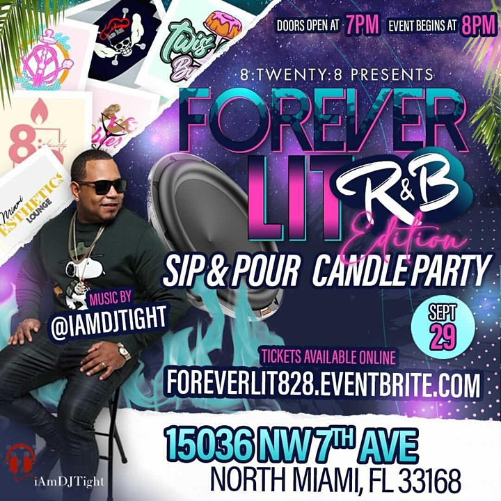 Forever Lit Candle Making Party: R&B Edition image