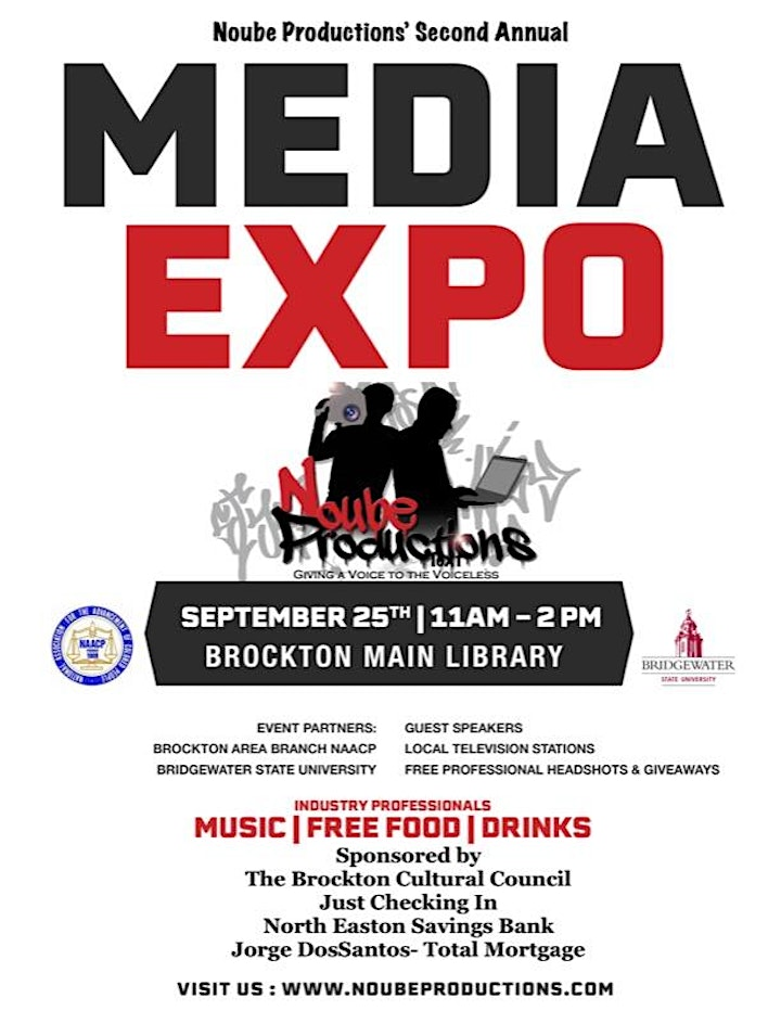 Noube Productions' 2nd Annual Media Expo image