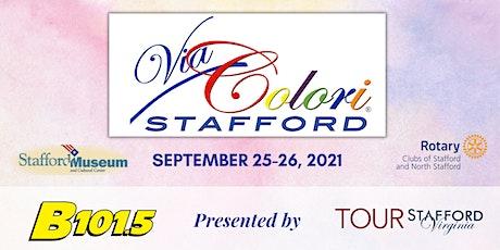 Via Colori Stafford! Street Painting Festival tickets