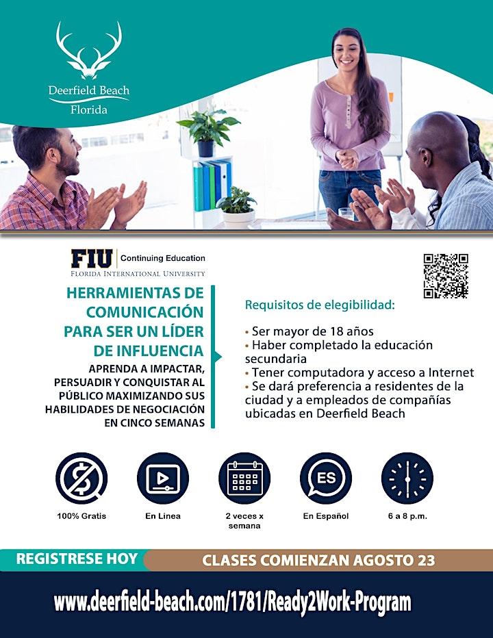 INFO SESSION - FREE Workshop Series - HERRAMIENTAS DE COMUNICACION image