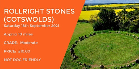 ROLLRIGHT STONES CIRCULAR WALK | 10 MILES | MODERATE | COTSWOLDS tickets