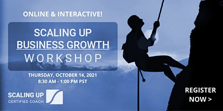 Virtual Scaling Up Business Growth Workshop tickets