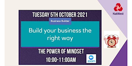 The Power of Mindset tickets