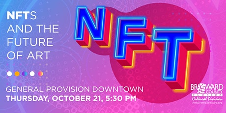 NFTs and the Future of Art tickets