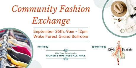 Community Fashion Exchange tickets
