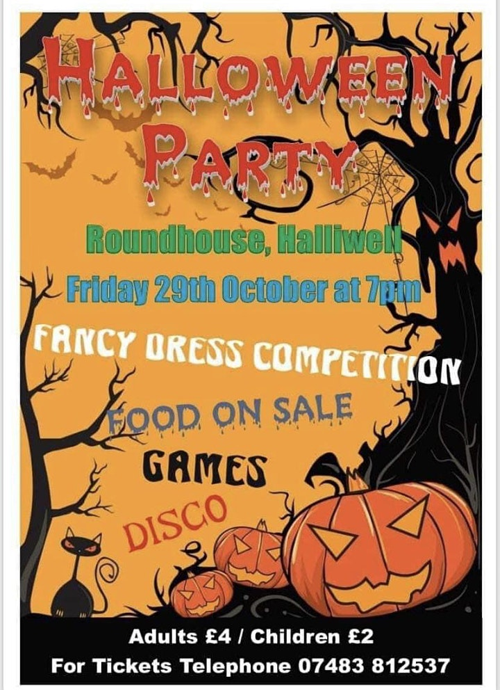 Bolton Halloween Party! image