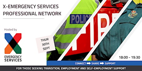 X Emergency Services Professional Network - tickets