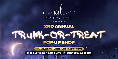 2ND ANNUAL TRUNK OR TREAT POP-UP SHOP tickets
