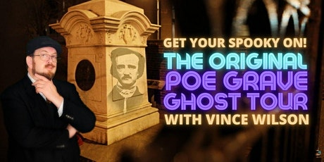 The Original Poe Grave  Ghost Tour tickets