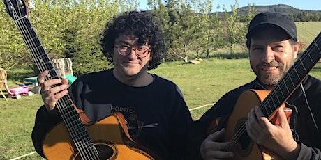 Les guitares de Fred et Jay billets