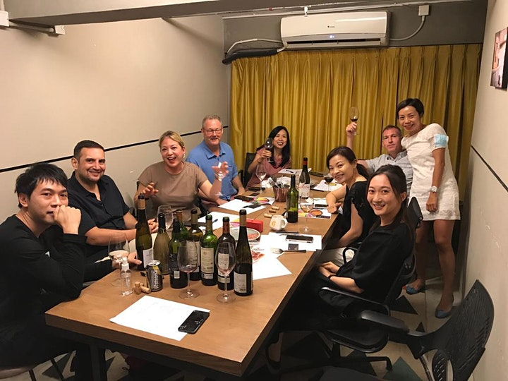 The Journey of Tongue presents: Summer wine tasting image