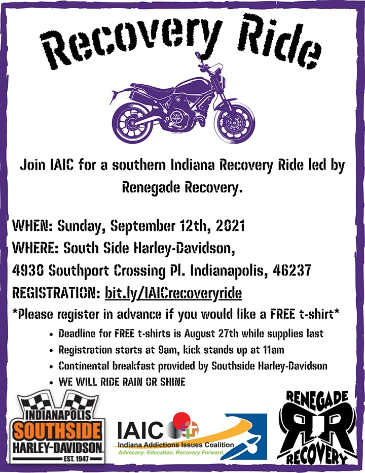 IAIC Recovery Ride 2021 image