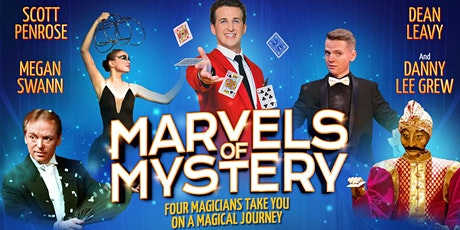 MARVELS OF MYSTERY    Magic & Illusions - 2pm Show tickets