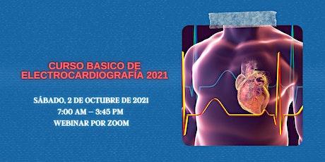 Curso Básico de Electrocardiografía tickets