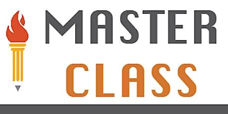 EIF Master Class: Scholarships tickets