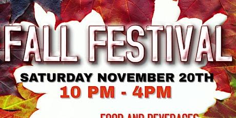 VOLUNTEER - Fall Community Festival tickets