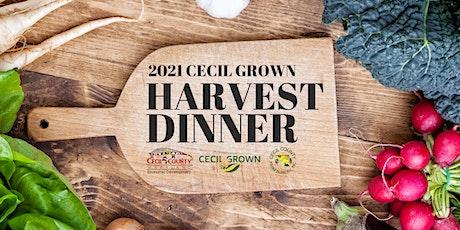 Cecil Grown Harvest Dinner 2021 tickets