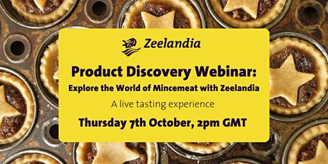 Explore the world of Mincemeat with Zeelandia: A live tasting event tickets