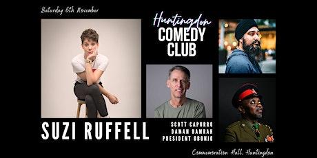 Huntingdon Comedy Club with headliner Suzi Ruffell tickets