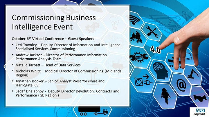 Commissioning Business Intelligence  Networking Event image