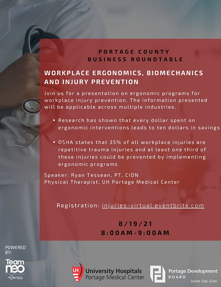 Business Roundtable- Workplace Injuries (VIRTUAL REGISTRATION) image
