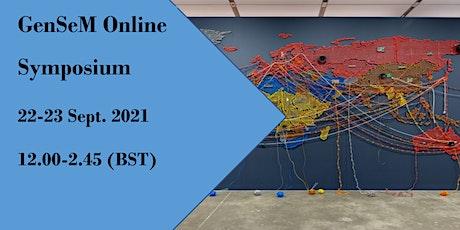 GenSeM 1st Online Symposium tickets