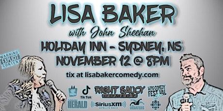 Lisa Baker - Right Saucy Comedy - Sydney, NS tickets