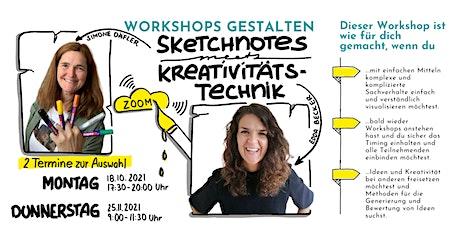 Workshops gestalten – Sketchnotes meets Kreativitätstechnik Tickets