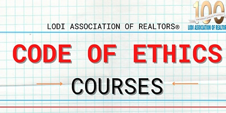 LAR's Code of Ethics Course - LODI tickets