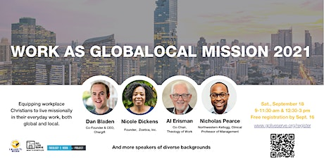Work as Globalocal Mission 2021 tickets