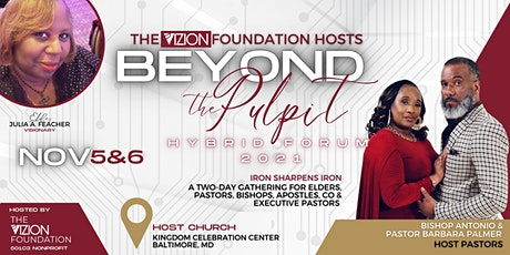 BEYOND THE PULPIT FORUM21 tickets