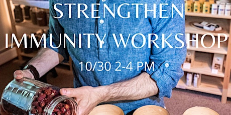 Strengthen Immunity workshop-Make your own herbal tincture for immunity tickets