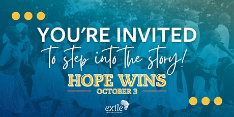 Hope Wins — Step Into The Story tickets