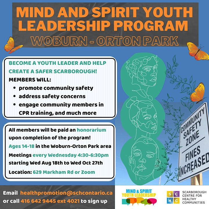 Mind and Spirit Youth Leadership Program - Woburn Orton Park image