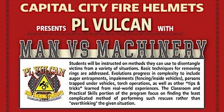 PL Vulcan: Man vs Machinery tickets