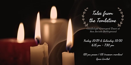 Tales from the Tombstone: Candlelight Graveyard Tour tickets