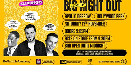 Barrow's Big Comedy Night Out with 3 great live comics  for just a Fiver tickets