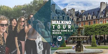 ✦ Erasmus Walking Tour : Notre-Dame & Le Marais✦ billets