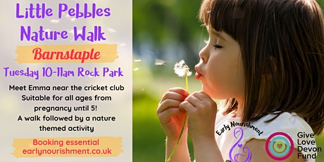 Little Pebbles Nature Walk (Baby & toddler group) tickets