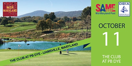 2021 Joint SAME Mid-Maryland/DBIA Scholarship Golf Tournament & Happy Hour tickets