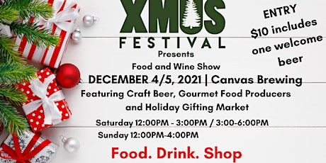 XMUS Food and Wine Show and Holiday Gifting Market tickets